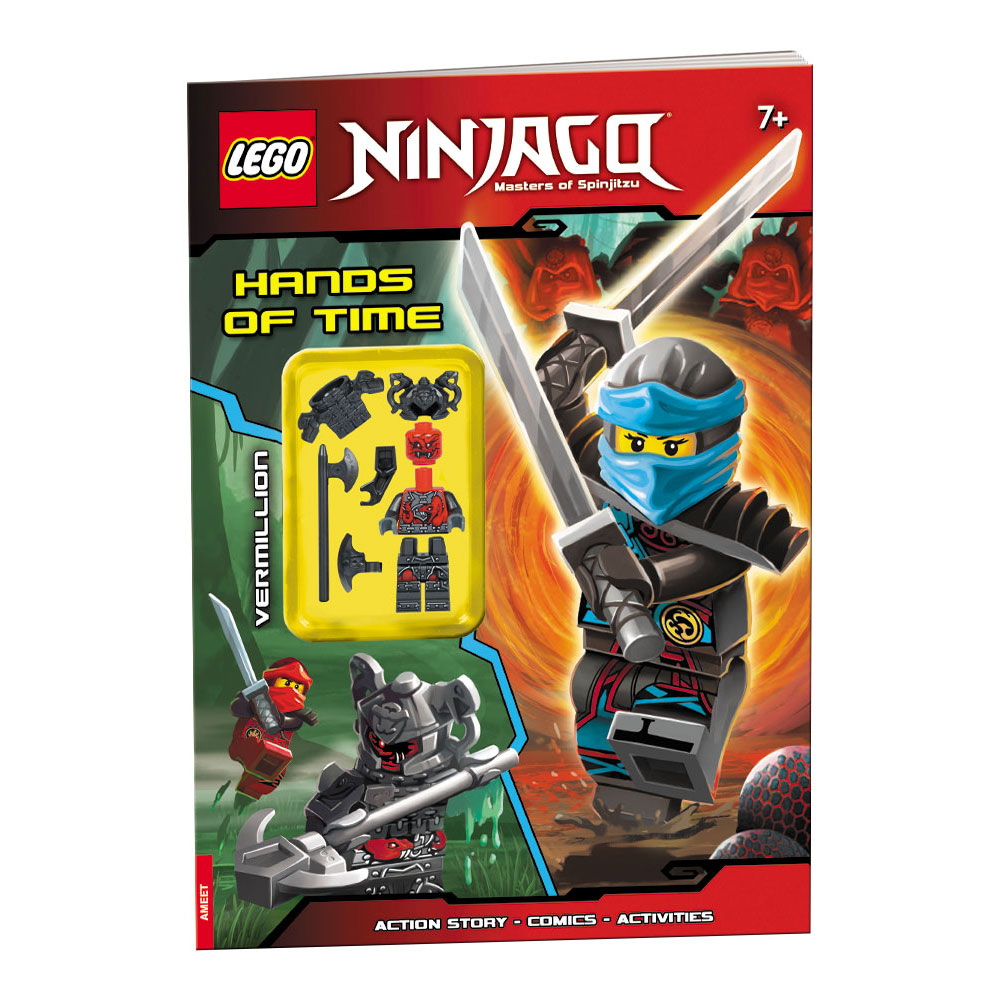 HANDS OF TIME STICKER SET LEGO NINJAGO SEASON 7