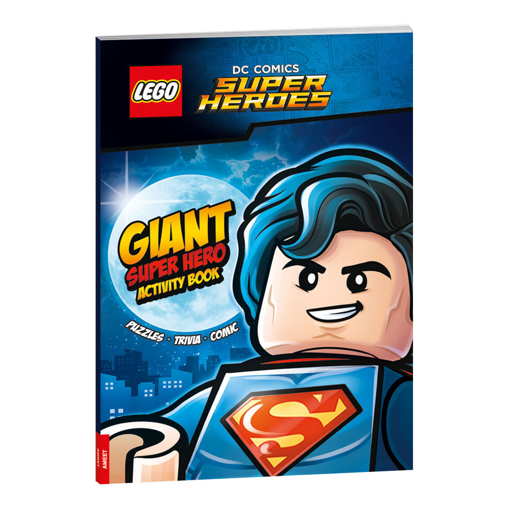 LEGO® DC COMICS Super Heroes Giant Super Hero Activity Book