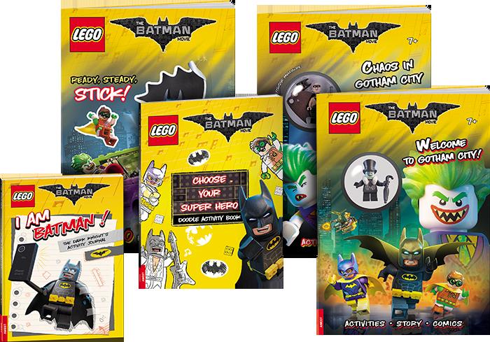 THE LEGO Batman Movie Books