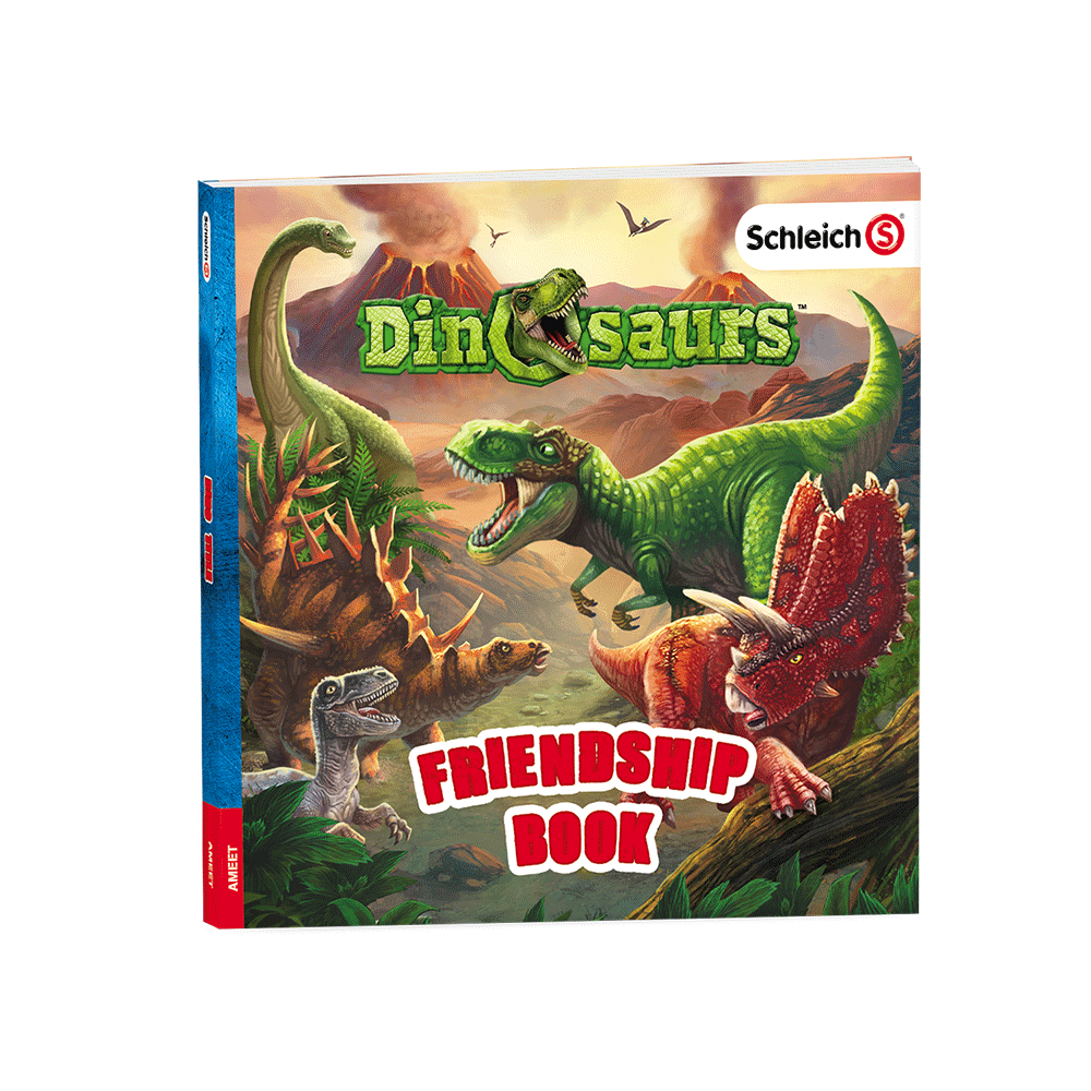 Dinosaurs-Friendship-Book