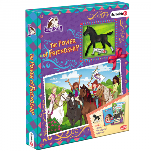 Horse Club gift box with schleich foal minifigure