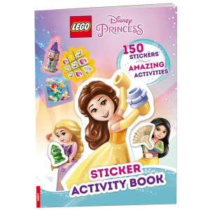 sticker activity book disney princess