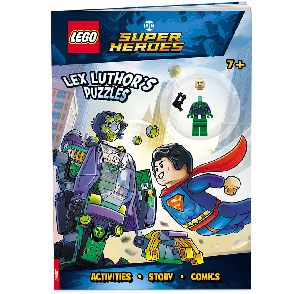 Lego Dc Comics Super Heroes Lex Luthor S Puzzles Ameet